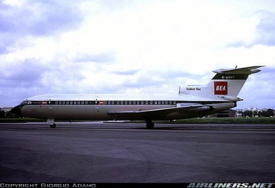 Hawker Siddeley HS-121 Trident 2E