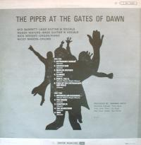 Verso du 33 tours de The Piper at the Gates of Dawn