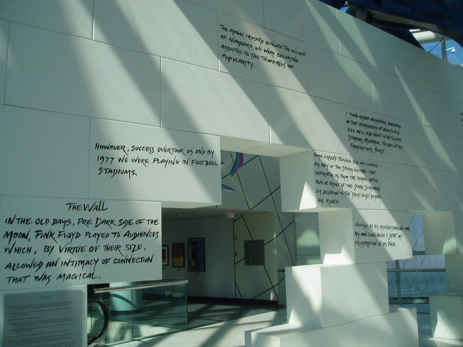 Foyer Museum Quotes : Sur les traces du floyd rock and roll hall of fame