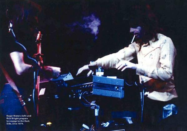 Roger Waters et Rick Wright vers 1974