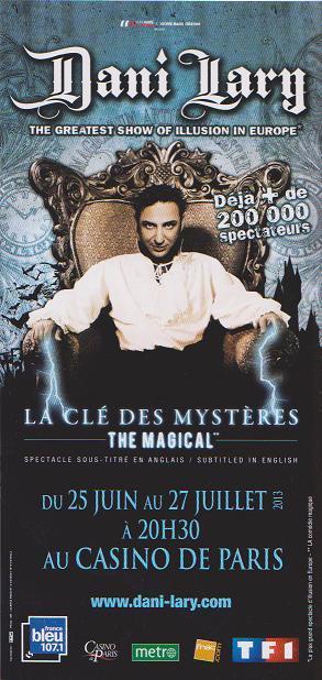 Illusionnisme et magie blanche, au cinéma et à la télévision 197_1387832442_lary3