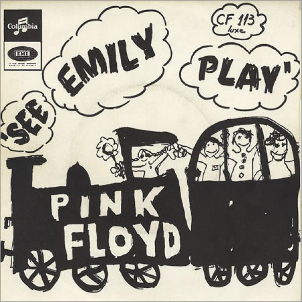 Pochette du single See Emily Play / The Scarecrow